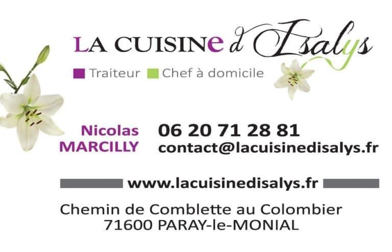CV La Cuisine d'Isalys
