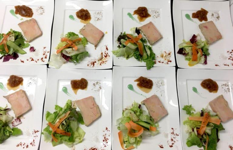 plat Foie Gras La Cuisine d'Isalys